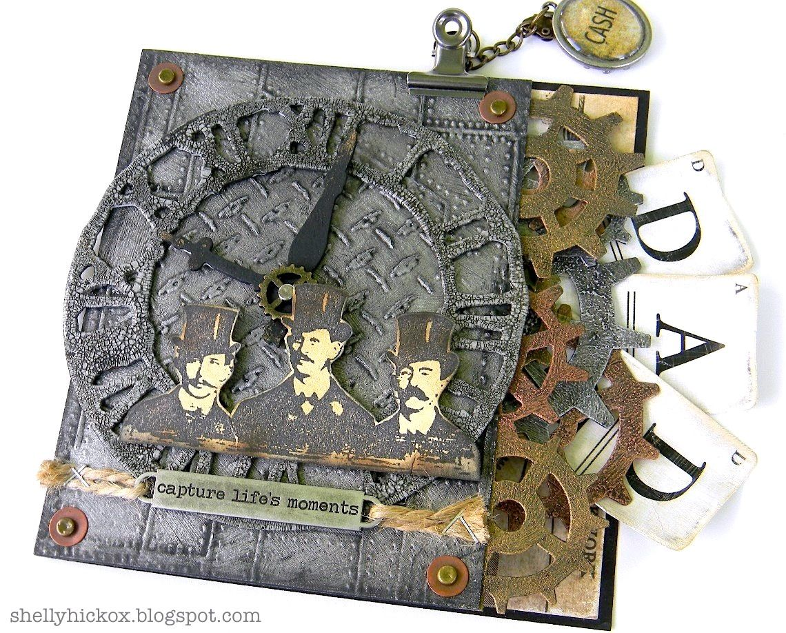 Sizzix: Steampunk Father's Day