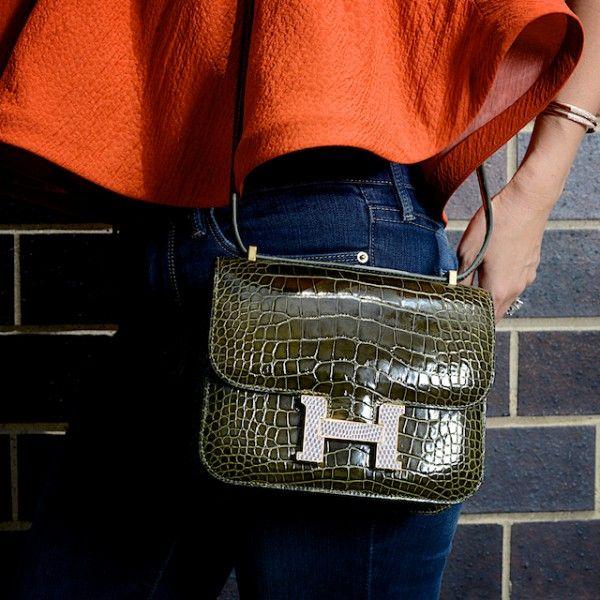 2304d3cd4989 Hermès Constance Marquetry Bag