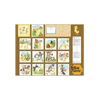 Little Golden Book The Fuzzy Duckling: Book Panel (1 yard)