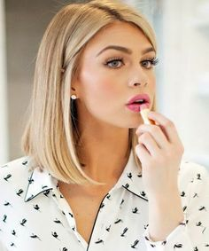 Awesome Bobs Hair And Blunt Bob Haircuts On Pinterest Hairstyles For Women Draintrainus