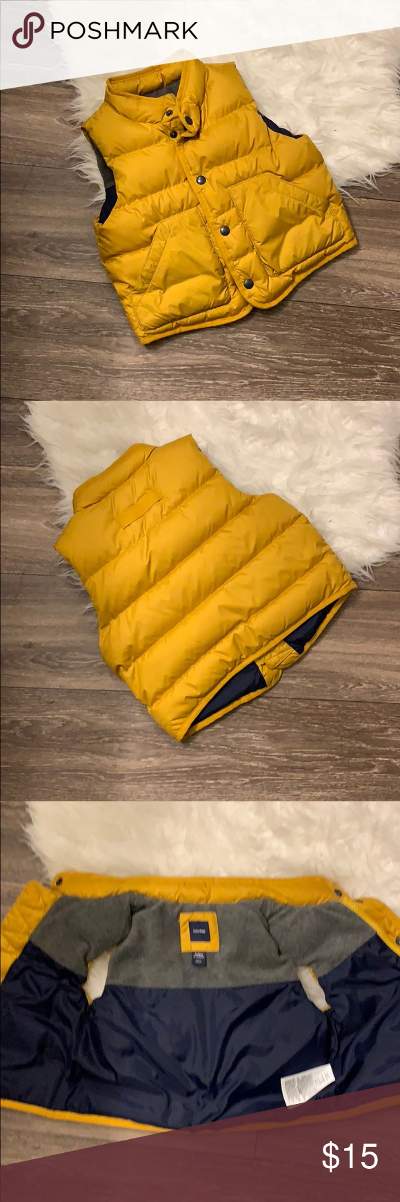 7798000663dd 🌟 Baby Gap Winter Puff Vest 🌟