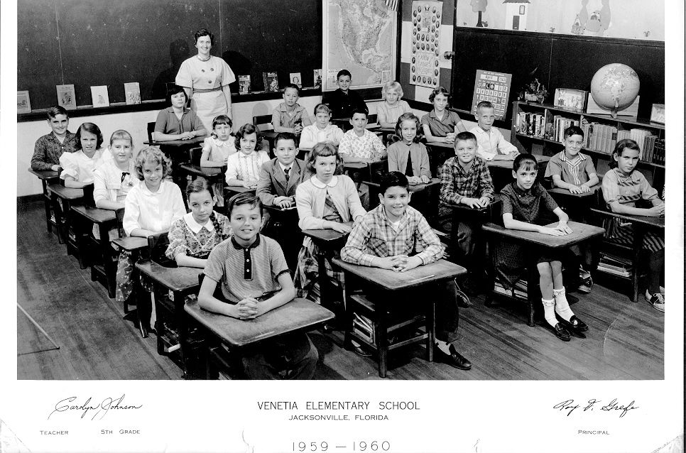 Vintage Class Photos of 1950's from Different Schools