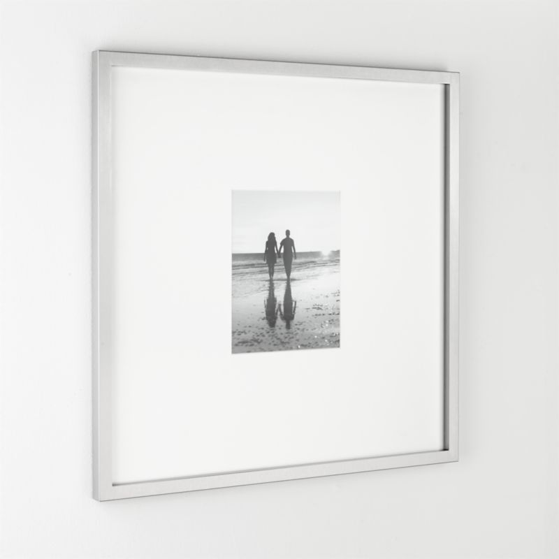 Showcase A Photo In Contemporary Brushed Stainless Steel