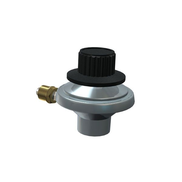 REPLACEMENT TABLETOP REGULATOR VALVE FOR BBQTEK, LIFE@HOME, PERFECT FLAME  AND UNIFLAME GAS