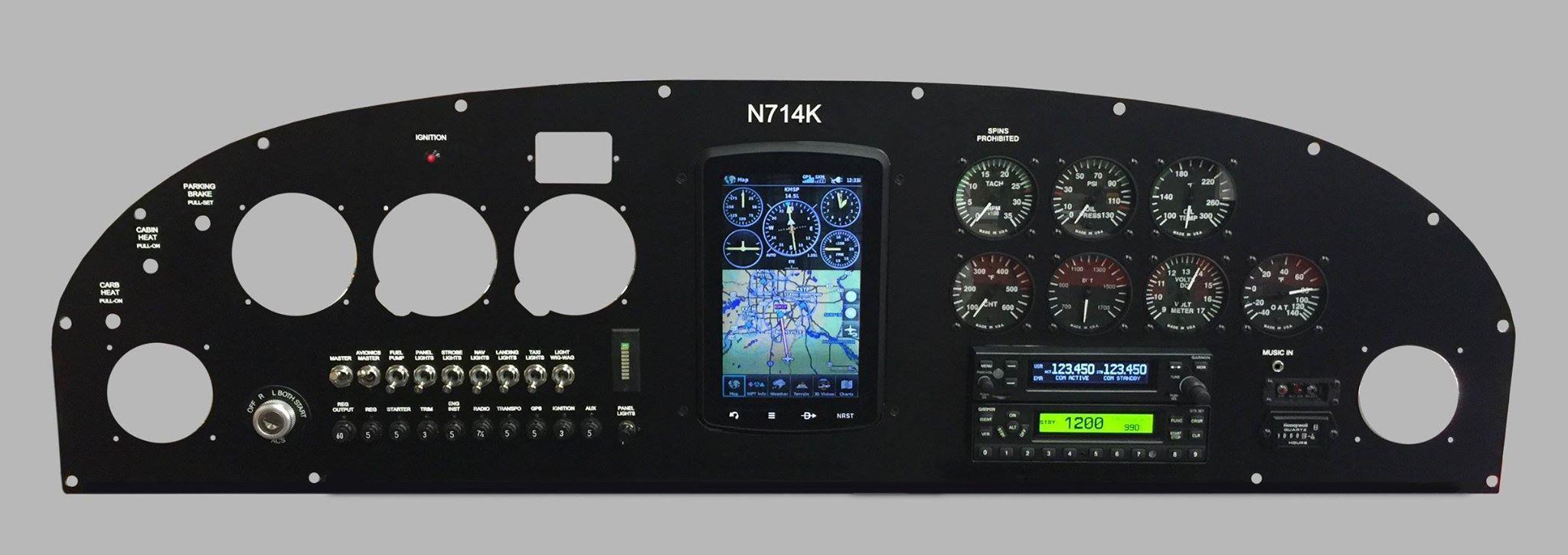 Great panel layout  | My Cessna 120/140/150 | Audio, Music