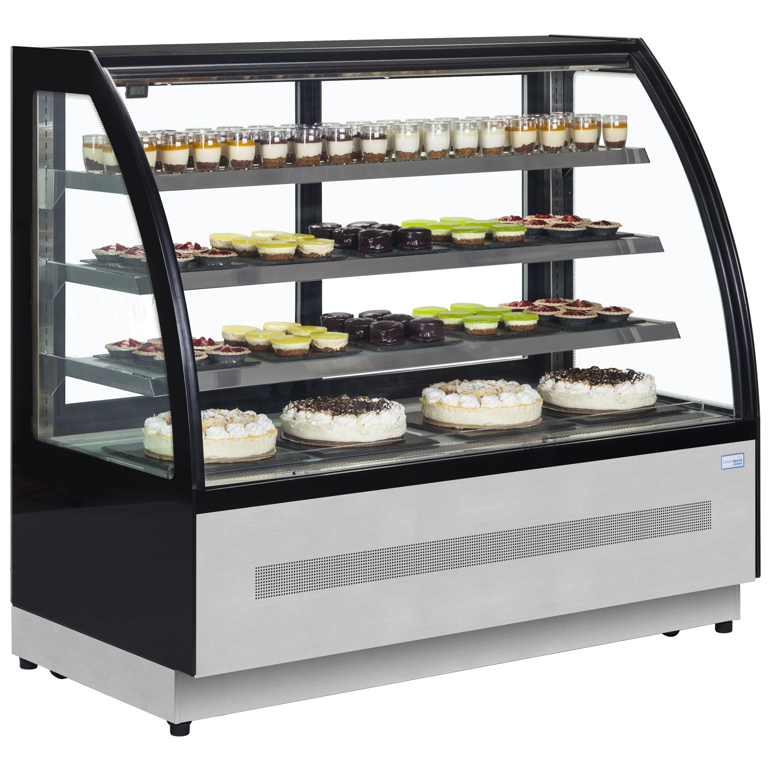 Bakery Display Cabinet Interlevin Lpd1200c Chilled Display Cabinet In 2018 Coffee Shop