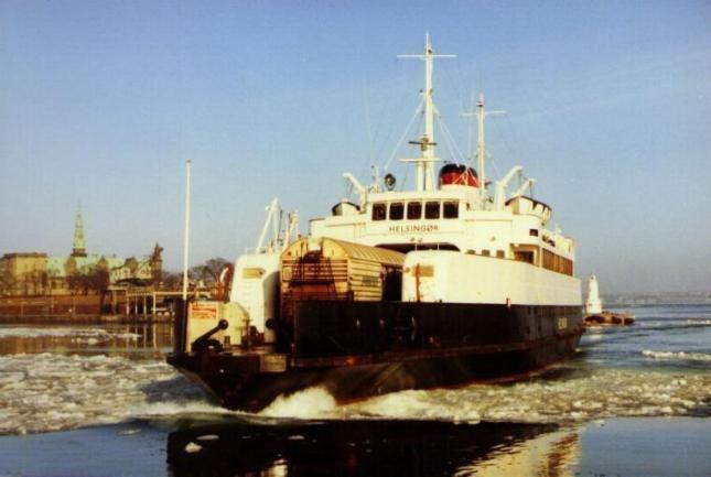 Xlendi – Part 1  Built by Helsingor Vaerft, Helsingør (Denmark) in 1955 for De Danske Statsbaner, Helsingør as a train ferry, it weighs 1123 gross tones and is 80 meters long.