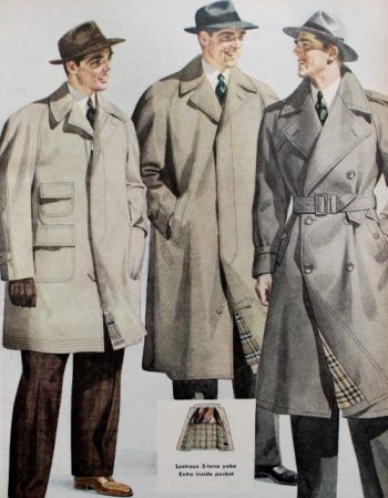 1940s Men S Fashion Clothing Styles Dress Clothing