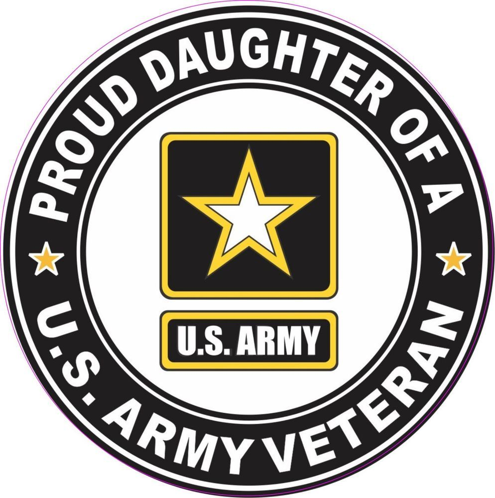 American Vinyl Round U.S Army Retired Sticker Bumper Vet Veteran us Military