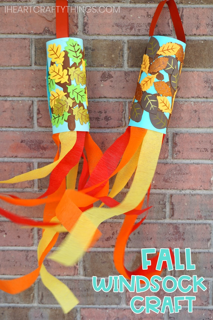 Fall Windsock Craft for Kids
