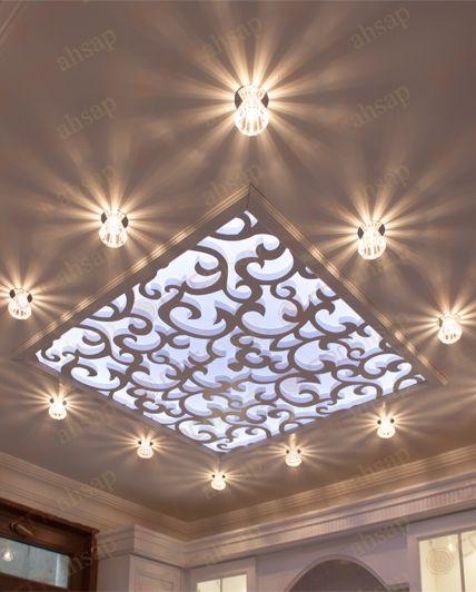 Interior Design Lighting Ideas Jaw Dropping Stunning: Tavan Seperatör Uygulama Cnchsap.NET