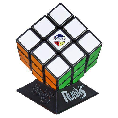 Rubik's Cube Game Hasbro.  Yup, it's still around and going strong!  Billions of combinations and one solution!