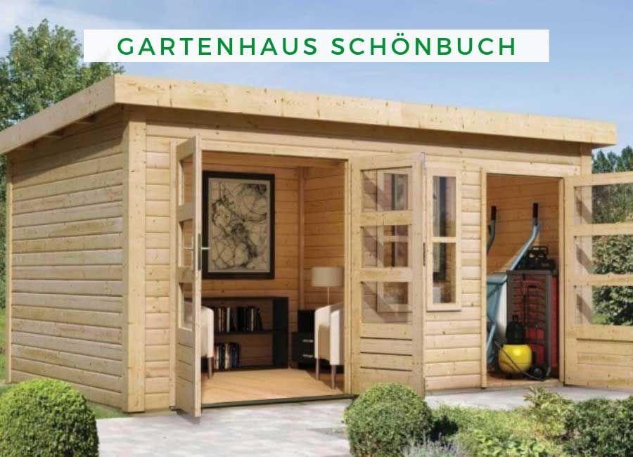 Gartenhaus Karibu Woodfeeling Schönbuch 1 (mit Bildern