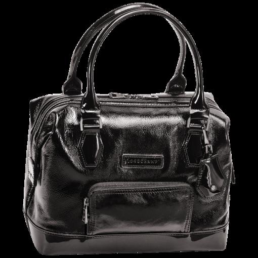 Handbag Légende verni - Bags - Longchamp - Black - longchamp.com ...