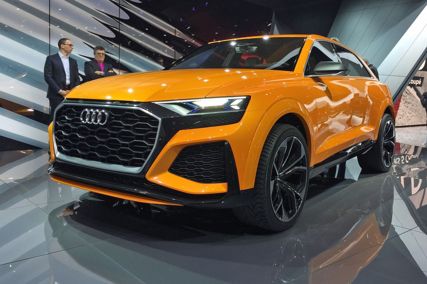 Again With More Intensity Audi Q8 Concept Returns As A Hot Hybrid By Car Magazine Sesto Elemento