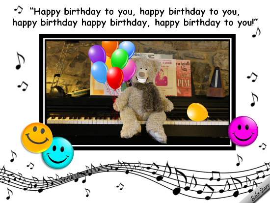 Birthday ecard with a song and smiles 123greetings – Free Online Singing Birthday Cards