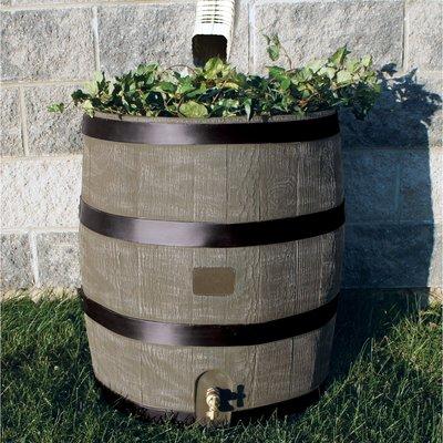 Rts Companies Rts Home Accents 35 Gallon Rain Barrel Rain Barrel Barrel Planter Rain Barrel System