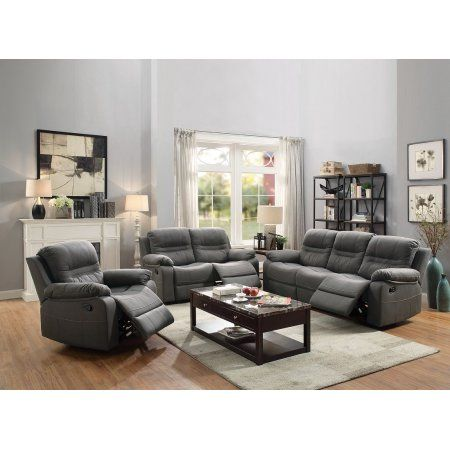 Best Reclining 3Pc Sofa Set Motion Sofa Loveseat Recliner Chair 400 x 300