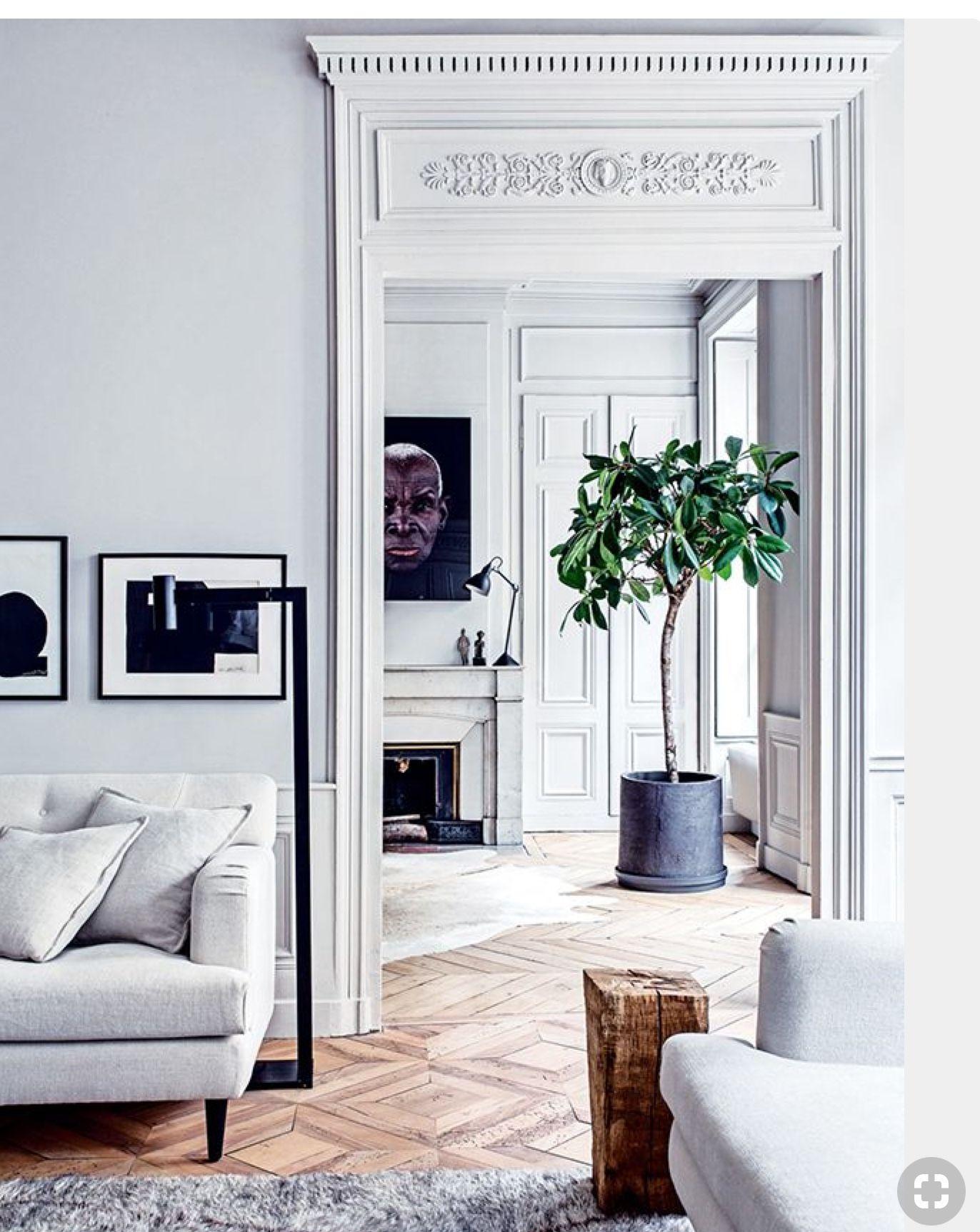 Inspiraci n para puertas dobles del fondo de la imagen for Interni case francesi