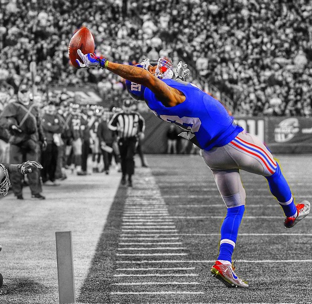 Catch of the year! Odell Beckham Jr. (With images) Odell