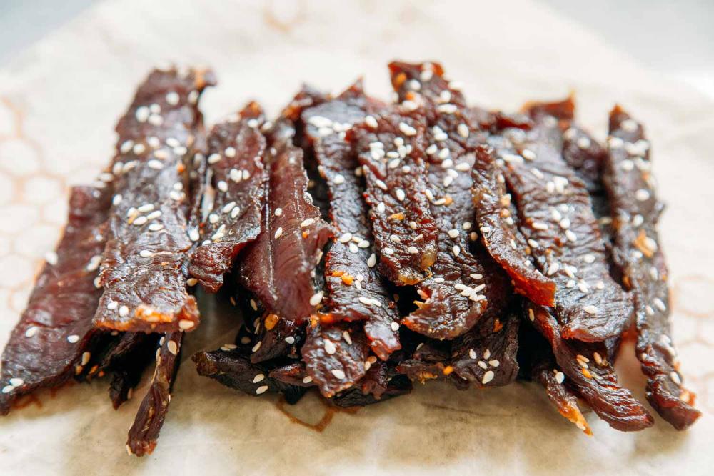 Teriyaki Beef Jerky Recipe Beef Jerky Recipes Jerky Recipes Teriyaki Beef