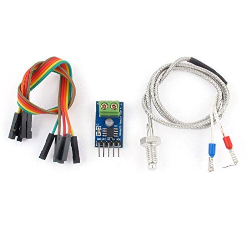 Introducing the MAX6675 for your Arduino. Thermocouples have been around forever and are a great way to measure temperature. They have a very large range, are robust and come in all kinds of lengt…