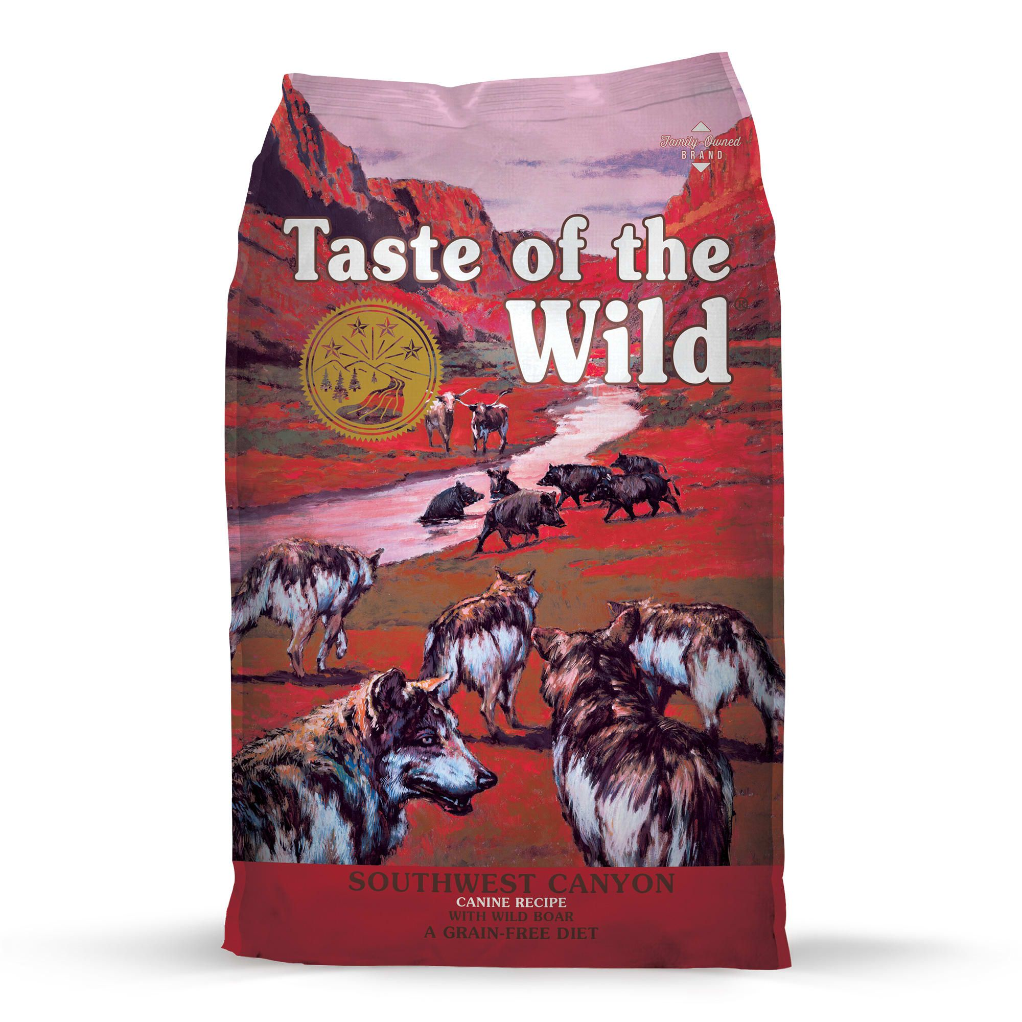 Taste Of The Wild Southwest Canyon Grain Free Wild Boar Dry Dog