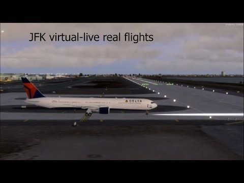 JFK AIRPORT **Virtual Airport**Live arrivals and