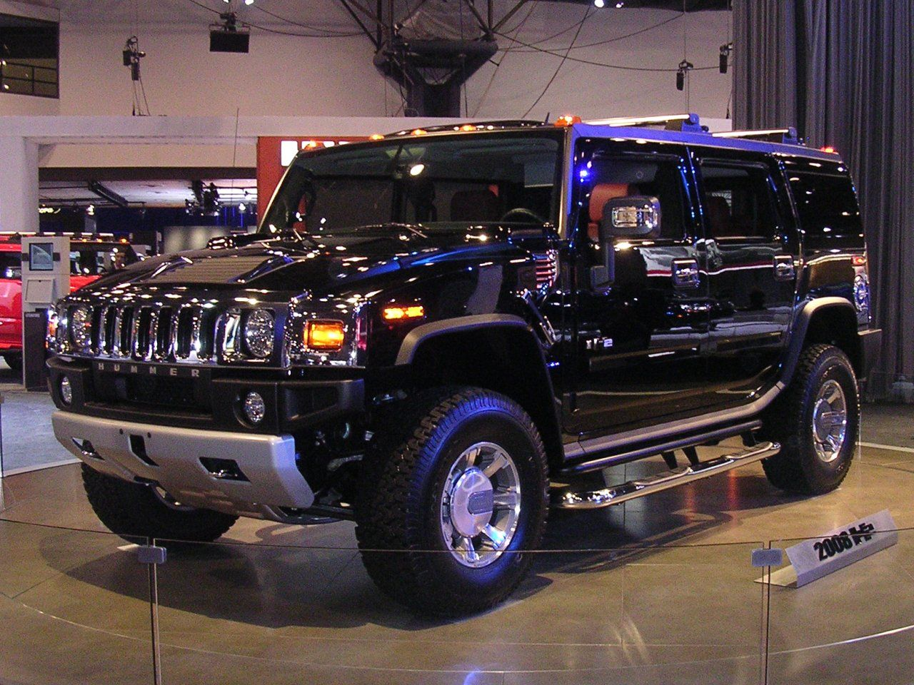 Hummer original army vehicle to hit the streets the sut is considered a pick up truck for its abilities to haul cargo with an extendable box to reach 6