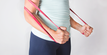 A Do-Anywhere, Full-Body Resistance Band Workout