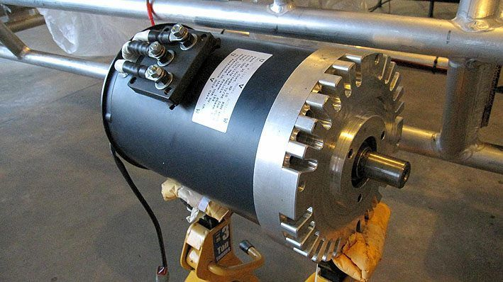 70kw Dc Motor Diy Electric Car Vehicle Tesla Electricity