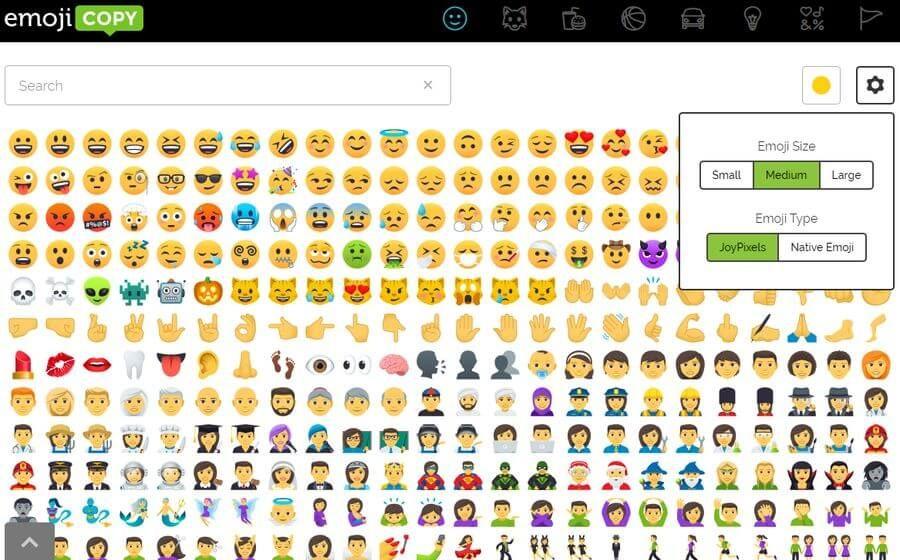 El Sitio De Emojicopy Nos Presenta Una Gran Seleccion De Bonitos Emojis Gratis Para Copiar Y Pegar Podemos Copiar Emojis Individuales O Diagram Periodic Table