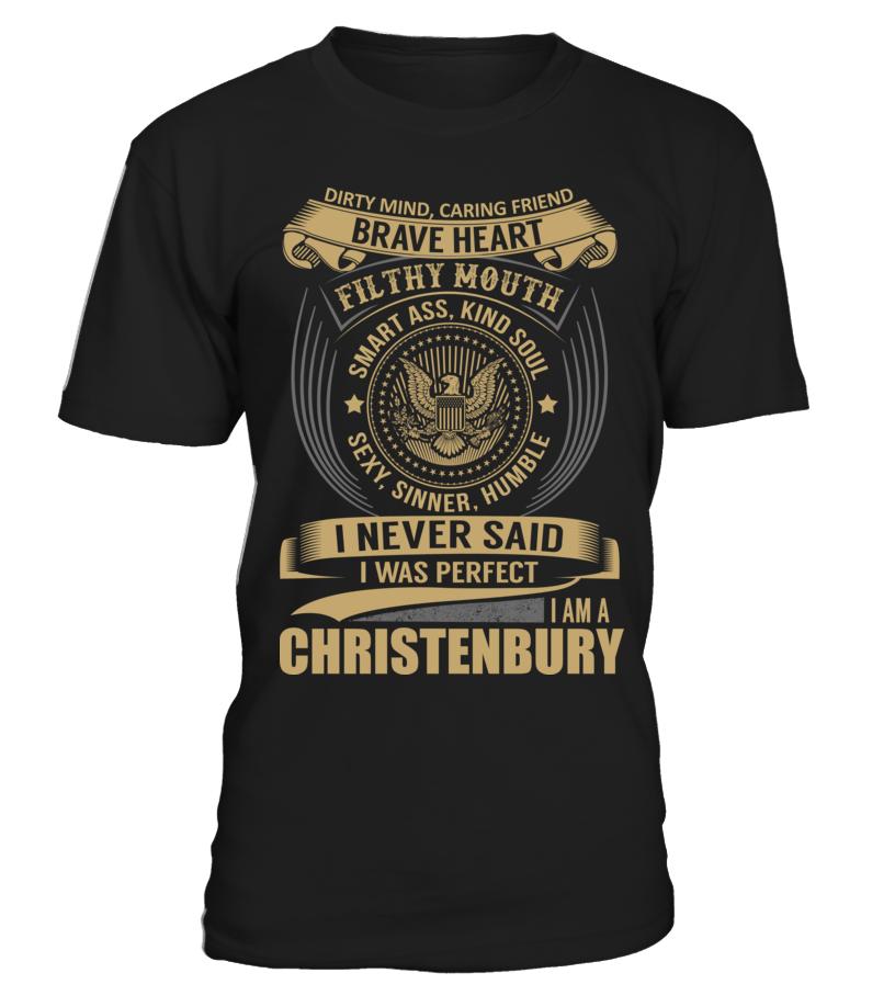 CHRISTENBURY - I Nerver Said
