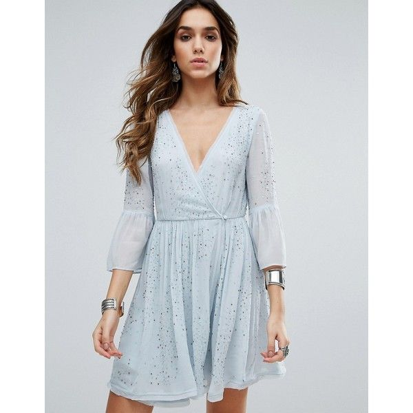 Free People Winter Solstice Embellished Party Dress (€165) via ...