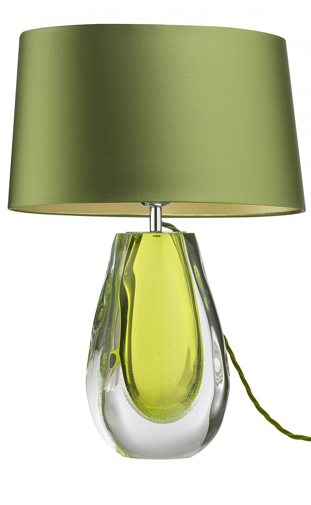 Green Green Table Lamp Table Lamps Modern Table Lamps Contemporary Table Lamps Designer Table Lamps Lux Green Table Lamp Green Lamp Art Glass Table Lamp