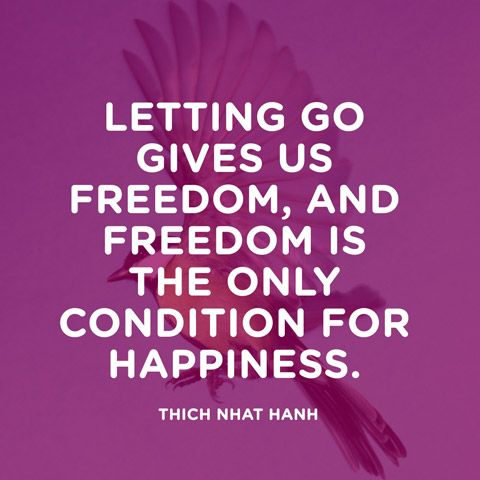Thich Nhat Hanh Quote - Quote About Letting Go