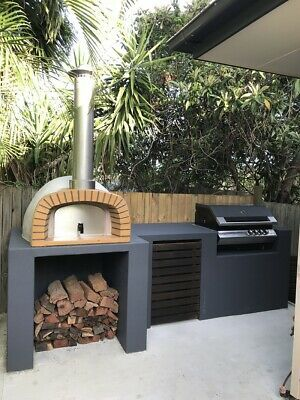 New Wood Fired Pizza Oven 100% ITALIAN Made DIY pizza oven kit (Large Family SYD