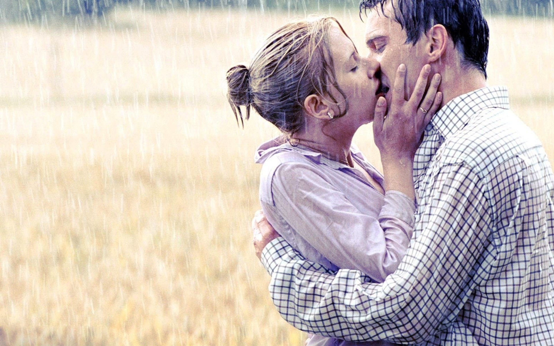 hot kiss in rain images