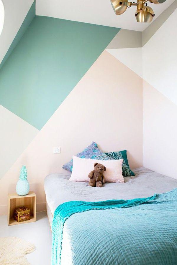 Inspiration Multicolor Walls Bedroom Wall Home Decor Home