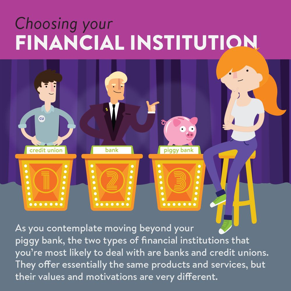 Choosing your financial institution kalsee credit union