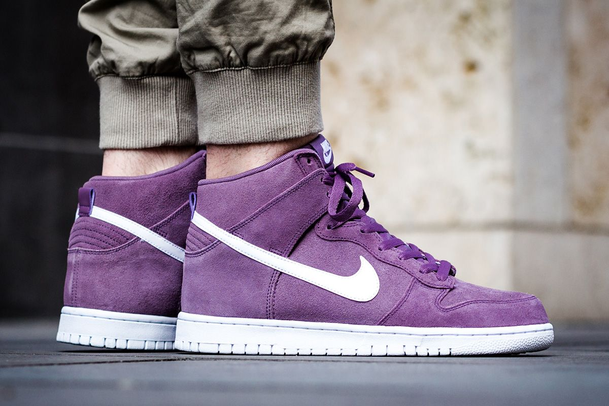 hot sale online d50c9 c63a6 Nike Dunk High  Violet Dust  - EU Kicks  Sneaker Magazine