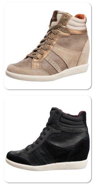 Esprit Blomma Lu Wedge Sneakers. Different Colours, EU42US8