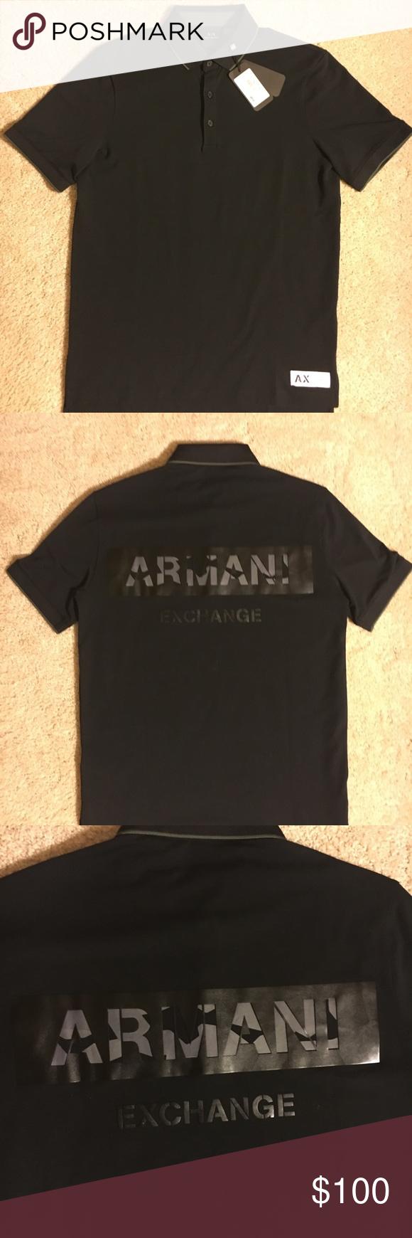 Polo Exchange Shirt T Closet In 2018 Nwt My Posh Armani ZxHwqdt5Z