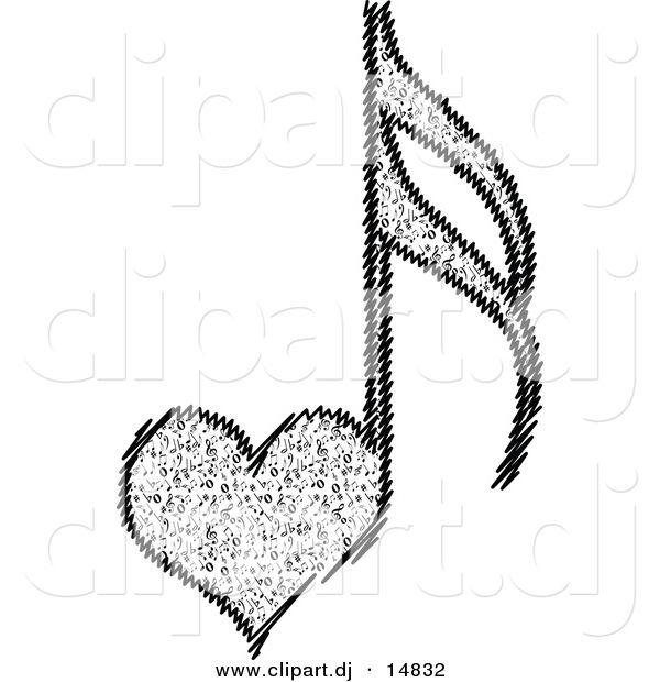 Sexy heart vector tattoo