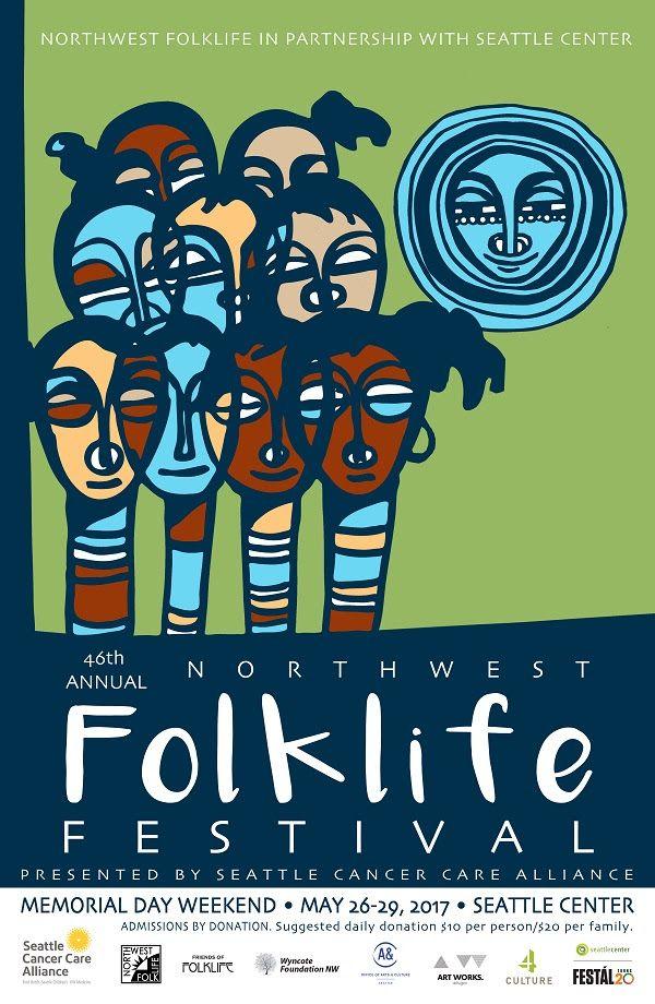 2017 Northwest Folklife Festival Seattle Center
