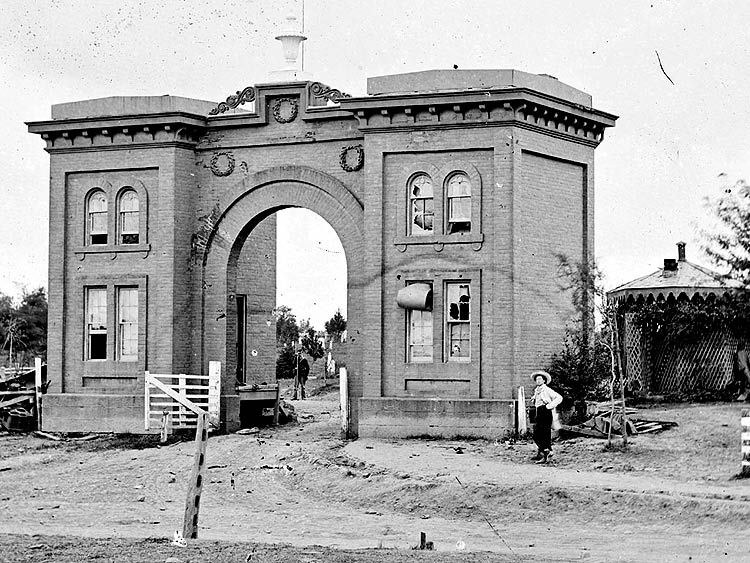 The Evergreen Cemetery Gatehouse in Gettysburg