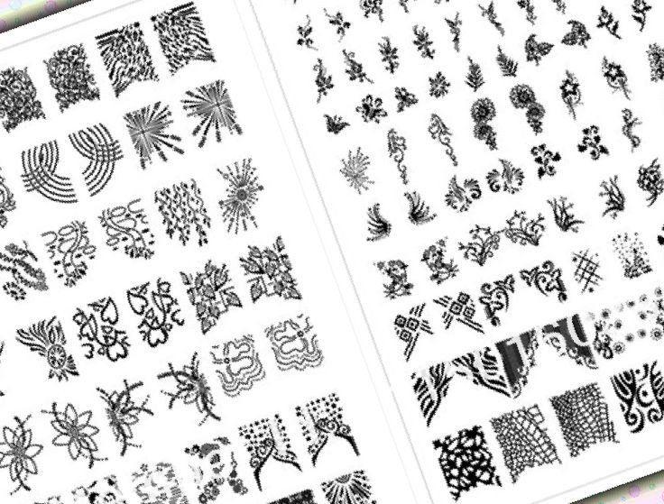 Printable Nail Art Stencils 37 Printable Nail Design