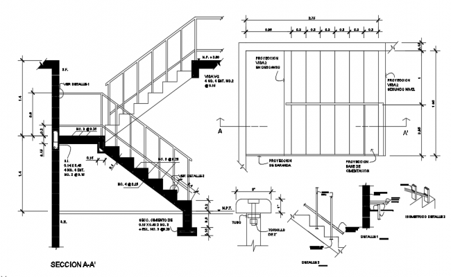 U Shaped Staircase Dwg File U Shaped Staircase How To Draw Stairs House Layout Plans