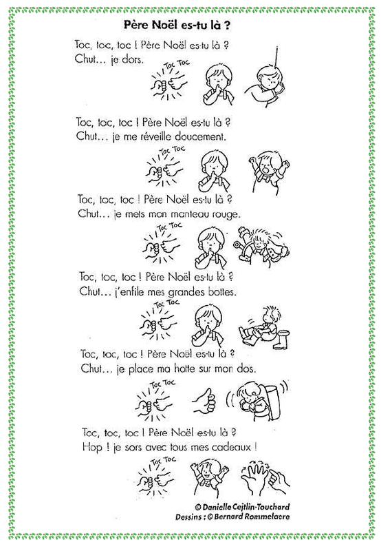 Nikolaus gedicht franzosisch