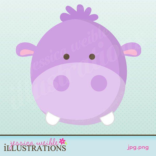 Cara De Hipopotamo Con Imagenes Cuadros Infantiles